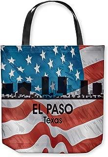 DiaNoche Designs Tote Shoulder Bags by Angelina Vick's City VI El Paso Texas