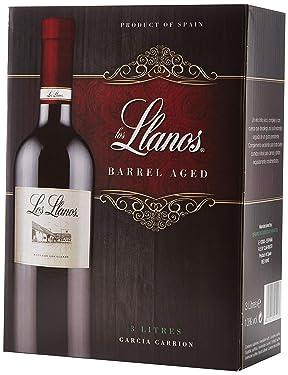 Los Llanos Tempranillo Vino Tinto - Bag in Box de 3000 ml