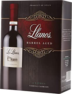 Los Llanos Tempranillo Vino Tinto, Alcohol 13%, Bag in Box