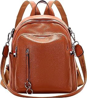ALTOSY Echtes Leder Rucksack Damen Elegant Schultertasche Frauen Mode Casual Daypack