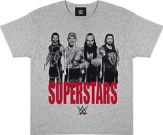 WWE Superstars Camiseta de los Muchachos | mercancía Oficial | Las Edades de 5-14 Ropa de los niños, Lucha John Cena Braun...