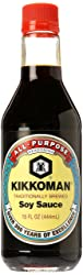 Kikkoman Naturally Brewed Soy Sauce, 15 oz