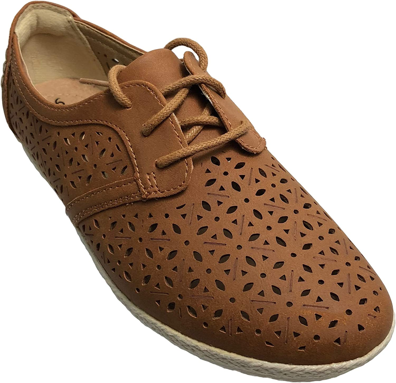 Earth Spirit Women's Astra Openwork shoes, Brown
