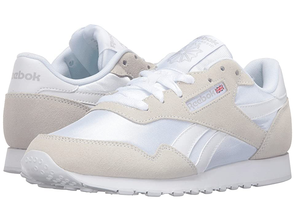 Reebok Royal Nylon (White/White/Steel) Women