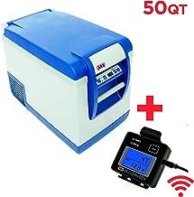 ARB Fridge Freezer 50 Quart Bundle with ARB Wireless Fridge Remote Display 10800472RM
