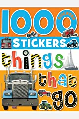 1000 Stickers - Things That Go Paperback