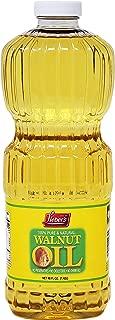 Walnut Oil 100 Percent Pure Kosher Walnut Oil 48 FL OZ 1.42 Liters  Product Of The USA