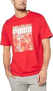 PUMA Men's CAMO Pack Logo TEE