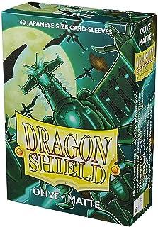 Dragon Shield Matte Mini Japanese Olive Green 60 ct Card Sleeves Individual Pack