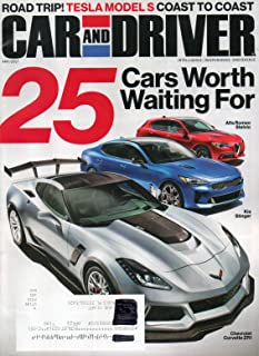 Car and Driver Magazine 2017 LONG TERM TEST 2015: TESLA MODEL S P850 ONE LONG ROAD TRIP 25 Cars Worth Waiting For