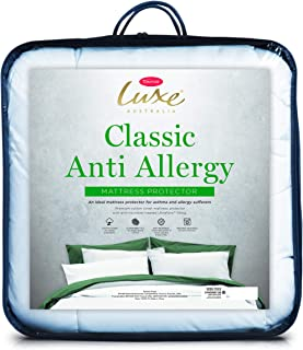 Tontine Luxe Classic Anti-Allergy Mattress Protector, Single Bed