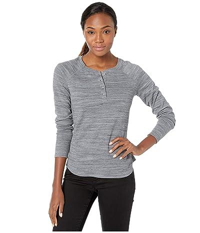 ExOfficio BugsAway(r) Novais Henley Long Sleeve Shirt (Carbon Heather) Women