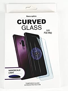 Glass screen protector with nano liquid and UV device for mobile For Huawei p30 pro from glass