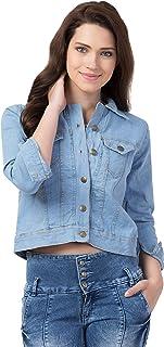 FurryFlair Full Sleeve Solid Women's Denim Jacket