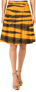 Rainbow Rules Tigger Stripes Winnie The Pooh Inspired A-Line Skirt