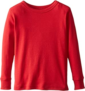 Leveret Long Sleeve Boys Girls Kids & Toddler T-Shirt 100% Cotton (2-14 Years) Variety of Colors