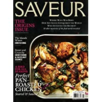 Deals on Saveur Magazine Subscription 1 Year 4 Issues