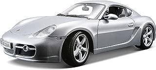 Maisto 1:18 Scale Porsche Cayman S Diecast Vehicle , Silver