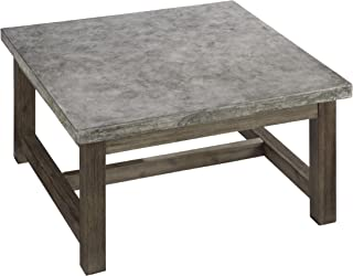 Concrete Chic Brown/Gray Coffee Table by Home Styles