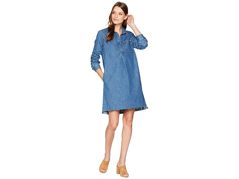 Lucky Brand Denim Popover Dress (Alvarado) Women