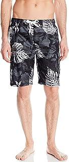 kanu ركوب الأمواج الرجالي من Paradise كبيرة الحجم ممتد مقلم مطبوع عليه زهور سباحة صندوق السيارة
