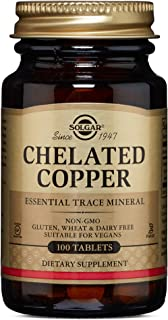 Solgar – Chelated Copper, 100 Tablets