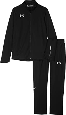 UA Challenger II Knit Warm Up Jacket (Big Kids)