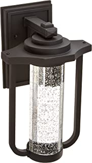 Artcraft Lighting North Star Outdoor LED Wall Mount Porch Light, Black