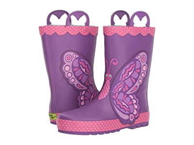 Western Chief Kids Limited Edition Printed Rain Boots (Toddler/Little Kid) (Betty Butterfly) Girls Shoes