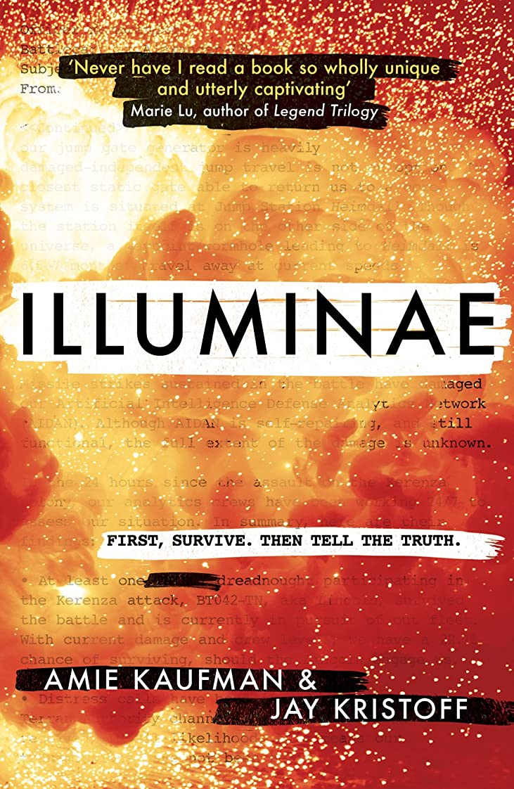 ルアー森無秩序Illuminae (English Edition)
