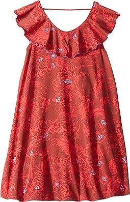 Red Callie Short Dress (Toddler/Little Kids/Big Kids)