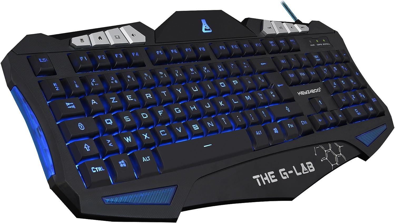 The g-lab Keyz - Teclado gaming: Amazon.es: Electrónica