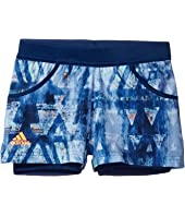 adidas Kids - Melbourne Shorts (Little Kids/Big Kids)