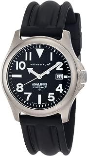 Men's 1M-SP00B1 Atlas Titanium Watch with Black Band