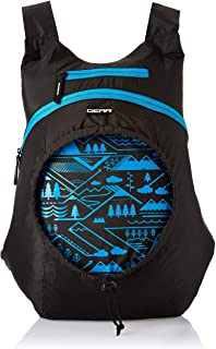 Gear Carryon Backpack Black- Blue (BKPCARYON0110)