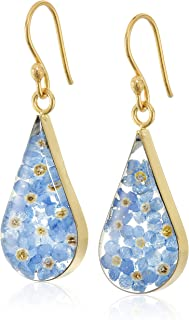 Best blue and gold dangle earrings Reviews