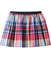 Polo Ralph Lauren Kids - Yarn-Dyed Poplin Plaid Skirt (Little Kids)
