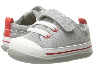 See Kai Run Kids Stevie II (Infant/Toddler) (Gray Jersey) Boy
