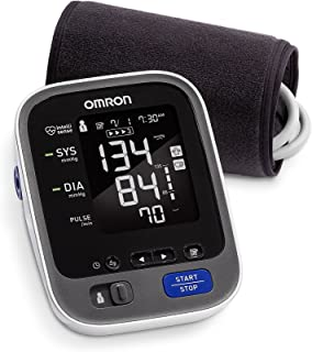 Omron 10 Series Wireless Bluetooth Upper Arm Blood Pressure Monitor with Two User Mode (200