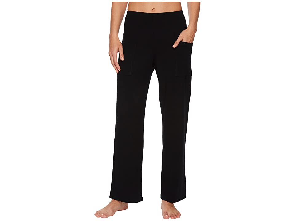 Only Hearts So Fine Straight Leg Pants (Black) Women