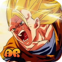 [AR] Goku SSJ 3 Virtual Action Figure!