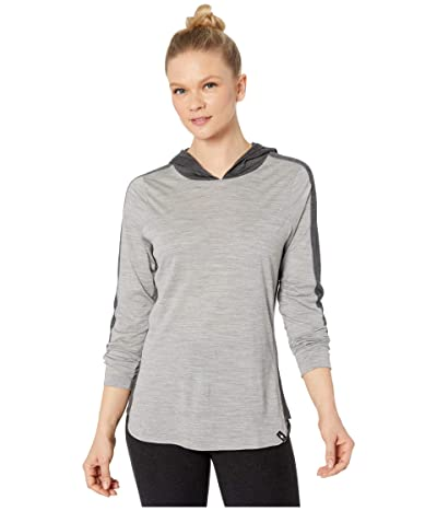 Smartwool Merino 150 Hoodie (Light Gray Heather) Women