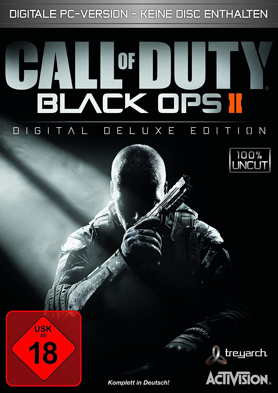 Call Of Duty Black Ops Ii Digital Deluxe Edition Download Code Kein Datentrager Enthalten 100 Uncut Pc Amazon De Games