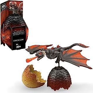 Mega Construx Drogon, 30 Bloques Game of Thrones, Multicolor