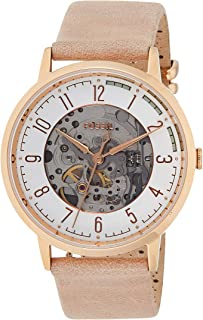 Fossil Womens Quartz Watch, Analog Display and Stainless Steel Strap ME3152