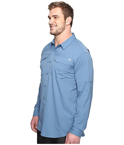 Sleeve Lite Columbia Long Ridge Tall Big and Shirt Silver qTqf0Zw