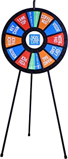 """31"""" Insert Your Own Graphics Prize Wheel with 12-24 Slots on Floor Stand"""