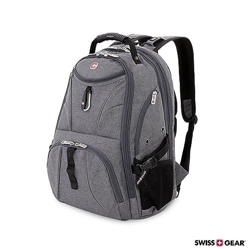 f84e8b364f07 SwissGear 1900 Scansmart TSA Laptop Backpack - Grey Heather