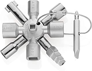 Knipex Llave para Armarios 001101, Plata