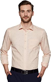 Arrow New York Men's Printed Slim fit Formal Shirt
